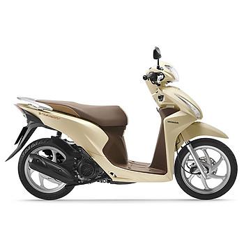 Xe máy Honda Vision 2019 Bản cao cấp Smartkey - Vàng Nâu