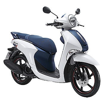 Xe Máy Yamaha Janus Limited Premium 2018 - Trắng Xanh+ Tặng Combo 4 Quà Tặng