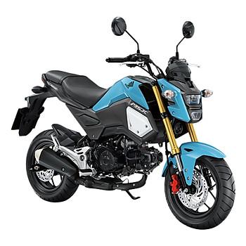 Xe Máy Honda MSX 125cc 2018 (Xanh da trời đen)