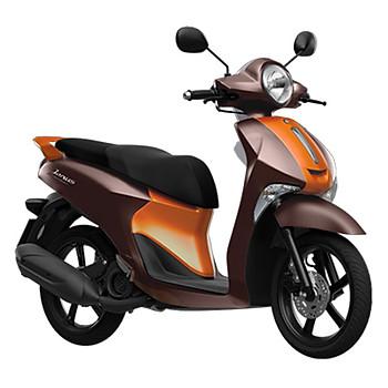 Xe Máy Yamaha Janus Limited Premium - Nâu Cam